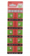 F-A19.2 Watch Battery 10pcs AG4