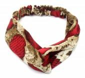 S-F1.2 H305-139A2 Headband Snake Red