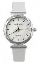 E-D4.7 Trendy Watch with PU Strap White 25MM