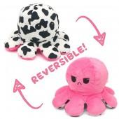 Y-C4.3 T2109-001 Reversible Octopus Pink-CowY-C4.3 T2109-001 Reversible Octopus Pink-Cow