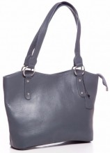 S-C3.1 BAG-553 Leather Bag 40x28x11cm Grey