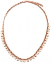 E-F15.1  N426-006R Necklace Stars Rose Gold