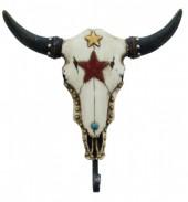 Z-A1.5 #50641 Skull Coat Hanger 21x20cm