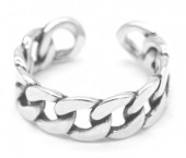 D-E20.3  SR104-038 925S Silver Ring Adjustable