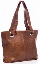 T-E5.2 BAG-503 Luxury Leather Bag 40x27x11cm Brown