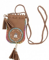 C-F9.1 N009-028 Festival Necklace Bag Buddha 95cm
