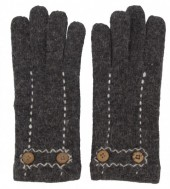 K-A7.1 TR-2013 Gloves with Buttons Grey