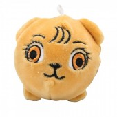 Z-F7.2 TOY308-001DD Plush Squishy Lion 8x8 cm