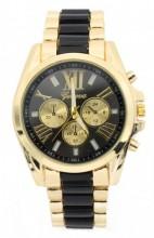 D-F5.8 W123-003 Metal Watch Gold-Black