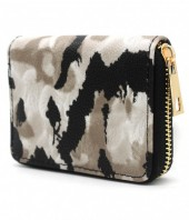 WA214-001 Small Wallet with Camouflage Print
