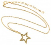 C-D3.5  41-48cm Stainless Steel Gold N099-004A Star