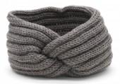 R-A8.1 H401-001D Knitted Headband Grey