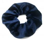S-I7.1 H305-009E Velvet Scrunchie Blue