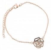 E-A1.9  Stainless Steel 18-23cm Rose Gold N099-008B Flower