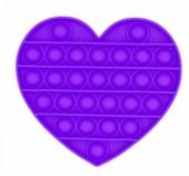 Pop It Heart - Purple
