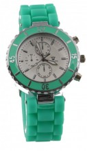 B-C4.5 Watch with Rubber Band 40mm Green