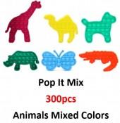 Pop It Animal Mix - 300pcs
