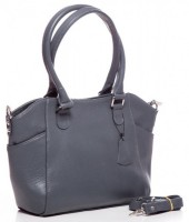 T-P1.1 BAG-788 Luxury Leather Bag 39x24x10cm Grey