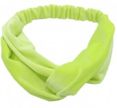 S-E6.3 H305-060A13 Velvet Headband Yellow