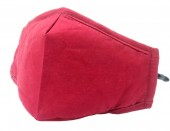 H-B3.1  FM042-015B Fashion Mask with room for filter - Red