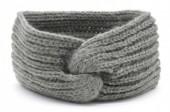T-I3.1 H401-006B Knitted Headband Extra Soft Grey