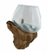 P-H3.3 Glass on Wood Medium  27x24