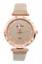 B-F19.1 W203-007 Quartz Watch with Pu Strap 30mm Khaki