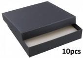 X-B7.2 220548 Gift Box 150x30x150mm 10pcs Black