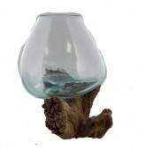 P-G4.4 Glass on Wood Medium 29x23