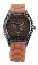 B-B5.2 Watch Panther with Rubber Band 40mm Salmon Pink