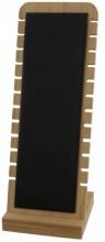 R-I7.2 PK424-014 Jewelry Display Wood with PU 27x10x9.5cm