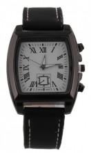 A-A17.6  W421-004A Quartz Watch with Date 40x45mm Black