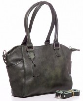 T-O5.1 BAG-788 Luxury Leather Bag 39x24x10cm Green