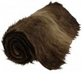 Y-C2.4 Fake Fur Table Runner Brown 90x30cmY-C2.4 Fake Fur Table Runner Brown 90x30cm
