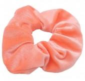 S-G5.3  H305-009A12 Velvet Scrunchie Salmon Pink