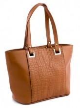 S-G6.3 Luxury Leather Bag 38x24cm Brown