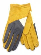 R-M6.2  GLOVE403-017D Gloves Multi-Yellow