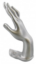 Y-D2.3 Display Hand Large Silver 25x8cm