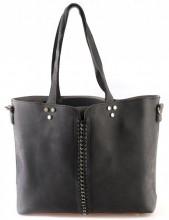 Y-D3.2 BAG120-003 Shopper with Bag in Bag Black