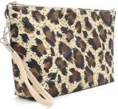 Q-J8.1 BAG200-001 Make Up Bag with Animal Print 28x17x5.8cm