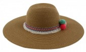 Q-N5.2 HAT020-005 Ibiza Size 57cm Brown