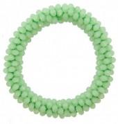 D-B15.6 Facet Glass Beads B007-004 Green