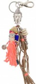 J-F7.2 K009-020 Key-Bag Chain Boho Buddha 27cm
