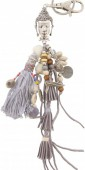 I-F7.3 K009-020 Key-Bag  Chain Boho Buddha 27cm