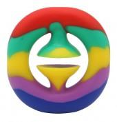 T-D4.2 T2130-001D Pop it Snapper Rainbow