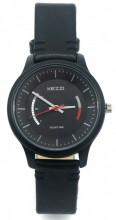 C-D2.1  K-1723B Quartz Watch with PU Strap 35mm Black