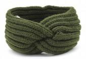 T-A6.1 H401-001G Knitted Headband Green