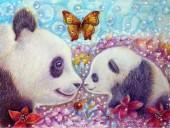 R-G7.2 GX537 Diamond Painting Set Pandas 40x30cmR-G7.2 GX537 Diamond Painting Set Pandas 40x30cm