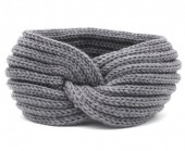 R-P8.1 H114-001 Knitted Headband Grey