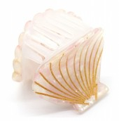X-K7.2 H413-047E Hair Clip Shell 4.5cm Light Pink